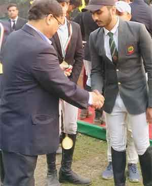 Gold�At Junior National Equestrian Championship Kolkata